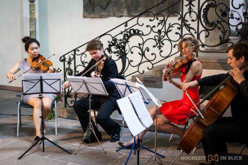 """Musik zur Hochzeit in der """"Großen Halle"""" im Märkischen Museum Berlin"""