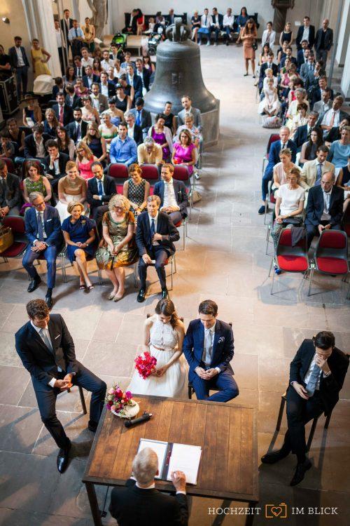 """Übersicht Hochzeit in der """"Großen Halle"""" im Märkischen Museum Berlin"""