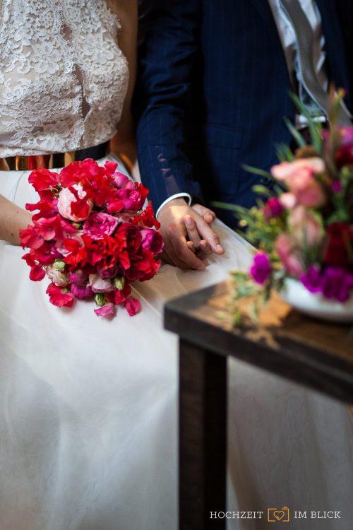 """Hochzeit in der """"Großen Halle"""" im Märkischen Museum Berlin"""