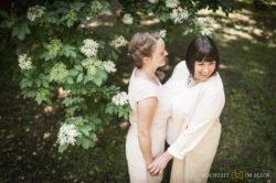 Wenn zwei Brautsträuße fliegen