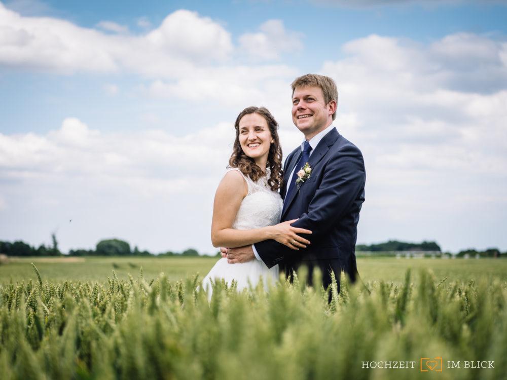Familiäre Hochzeit am Niederrhein