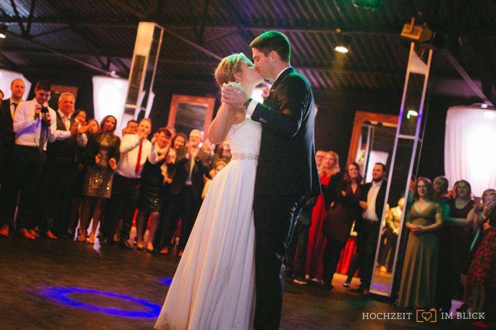 Hochzeitstanz im Theater der Träume in Düsseldorf