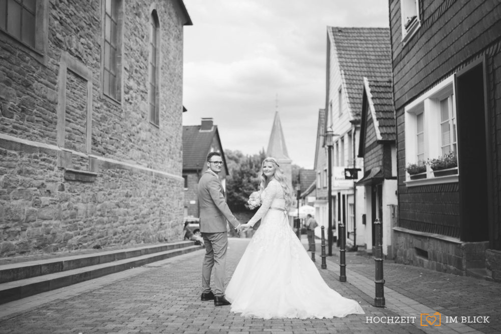 Hochzeitsportraits in Hattingen von unserem Hochzeitsfotografen Richard.