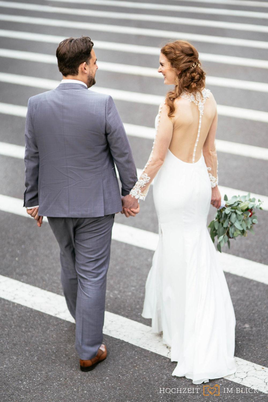 Brautpaarshooting in Düsseldorf von unserem Hochzeitsfotografen aus Düsseldorf