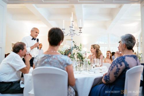 Feier an der Hochzeitslocation Hoher Darsberg