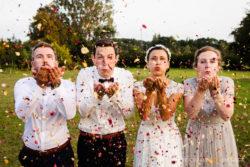 Hochzeit als Gartenparty in Holm