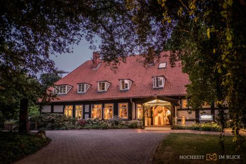 Das Forsthaus in Bruchhausen-Vilsen, fotografiert von unserem Hochzeitsfotografen Stefan
