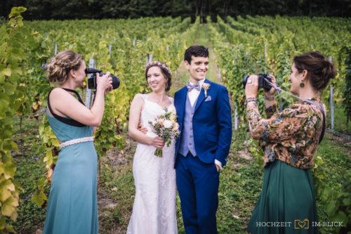 Hochzeitsfotos Weinberge bei Siegburg