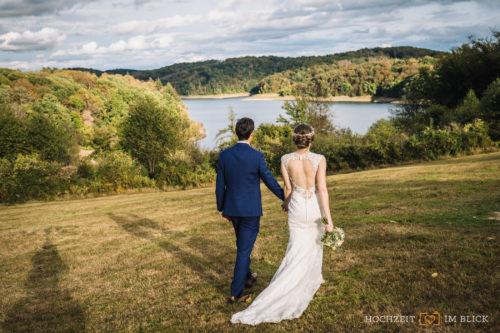 Hochzeitsfotos Talsperre bei Siegburg