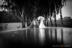 Dauerregen bei der Hochzeit
