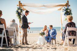 Hochzeit in Holland am Meer!